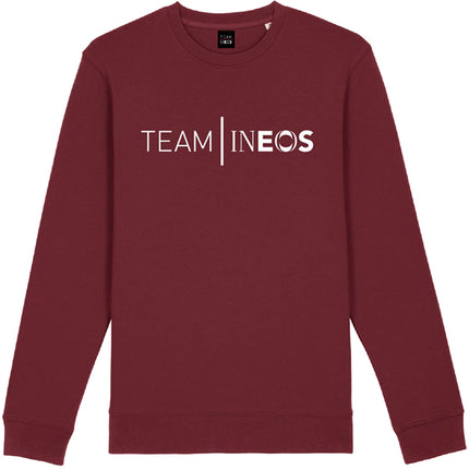 Team INEOS Logo Sweatshirt Burgundy