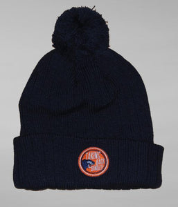 Taking Back Sunday Panther Patch Beanie (Navy)