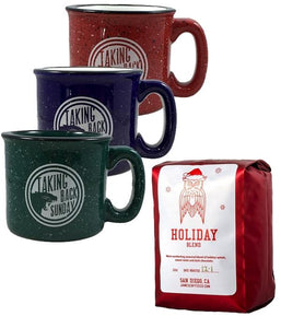 Taking Back Sunday Mug & James Coffee Co. Holiday Blend Bundle