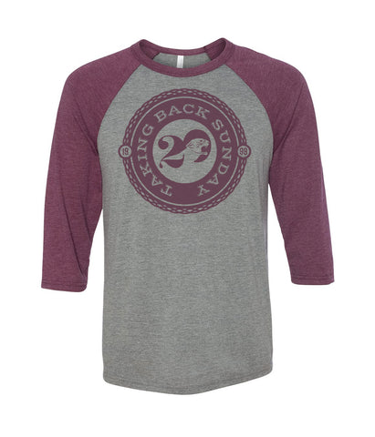 Taking Back Sunday Twenty Logo Raglan
