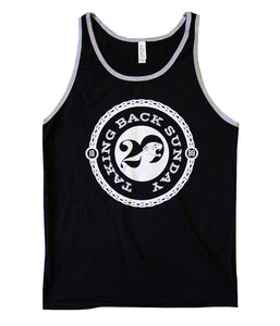 Taking Back Sunday 20 Year Tank Top (Black)