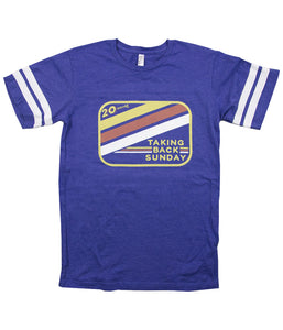 Taking Back Sunday Vintage Logo Football Shirt