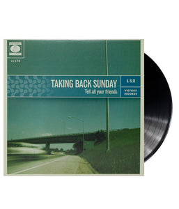 Taking Back Sunday - Tell All Your Friends Vinyl (Black)