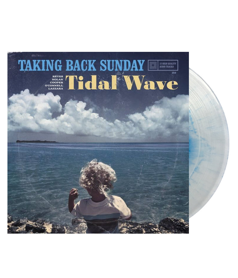 Taking Back Sunday - Tidal Wave Vinyl (Clear w/ Transparent Blue Haze)