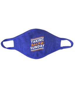 Taking Back Sunday Curve Mask **Preorder - Ships 12/09
