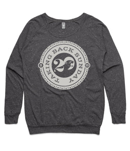 Taking Back Sunday Twenty Logo Womens Crewneck Sweatshirt