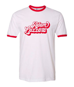 An Evening With Adam Lazzara Ringer Shirt