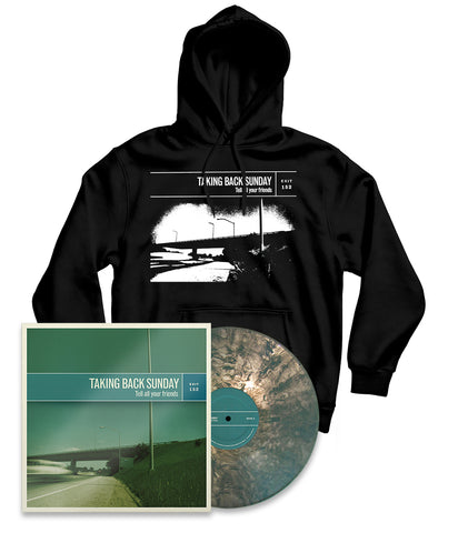 Taking Back Sunday Tell All Your Friends Remastered Vinyl Bundle #3