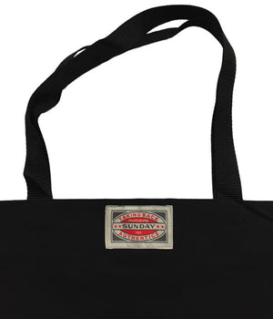 Taking Back Sunday Upcycled Backdrop Tote Bag