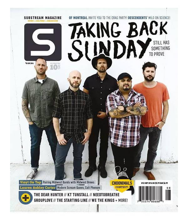 Taking Back Sunday Substream Magazine