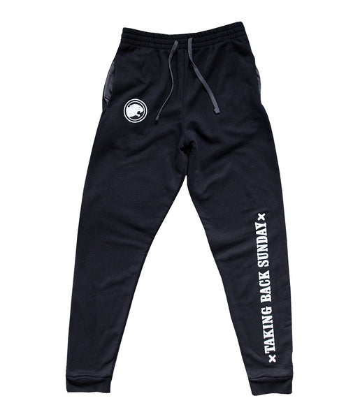 Taking Back Sunday Panther Logo Jogger Pants