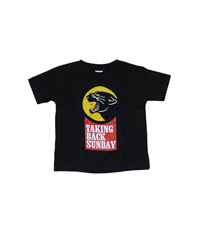 Taking Back Sunday Panther Toddler Shirt (Black)