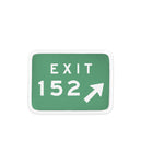 Taking Back Sunday Exit 152 Patch