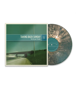 Taking Back Sunday - Tell All Your Friends Remastered Vinyl (Iridescent Green)