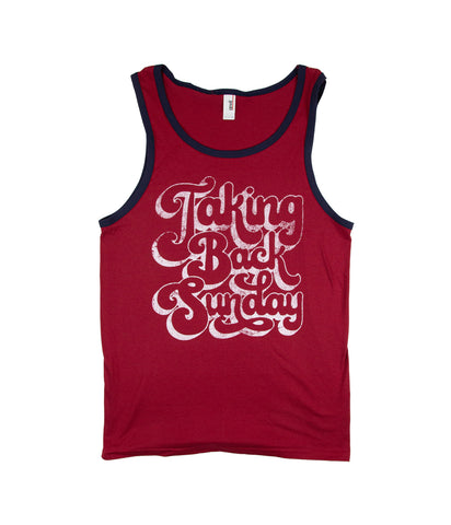 Taking Back Sunday 70s Tank Top