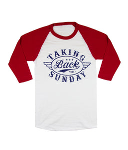 Taking Back Sunday Badge Raglan