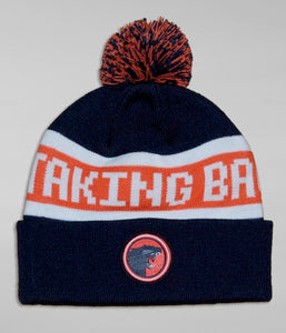 Taking Back Sunday Panther Beanie (Navy/Orange)