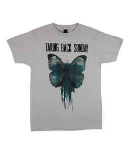 Taking Back Sunday Butterfly Shirt