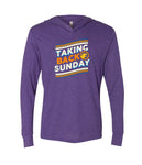 Taking Back Sunday Curve Longsleeve Triblend Hoodie