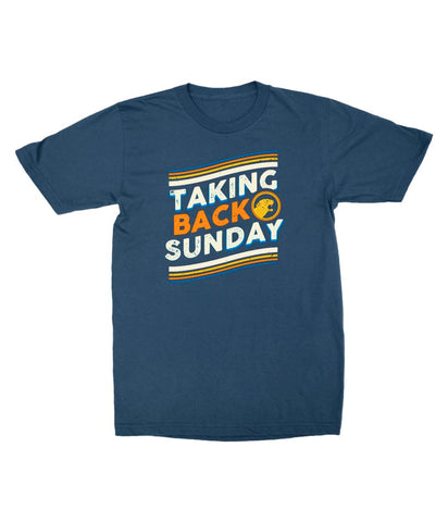 Taking Back Sunday Curve Shirt **Preorder - Ships 12/09
