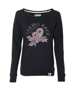 Taking Back Sunday Forever Womens Crewneck Sweatshirt