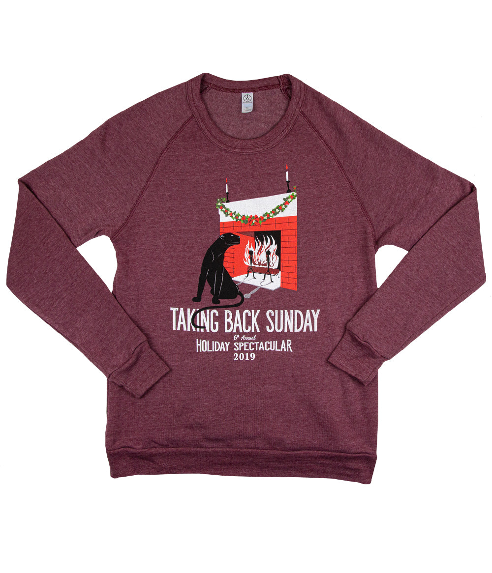 Taking Back Sunday 2019 Holiday Crewneck Sweatshirt