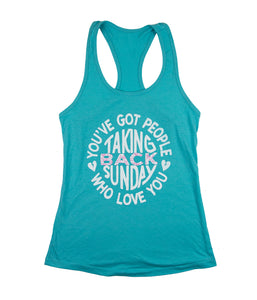 Taking Back Sunday Holy Water Womens Tank Top