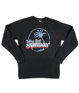 Taking Back Sunday Palm Tree Crewneck Sweatshirt