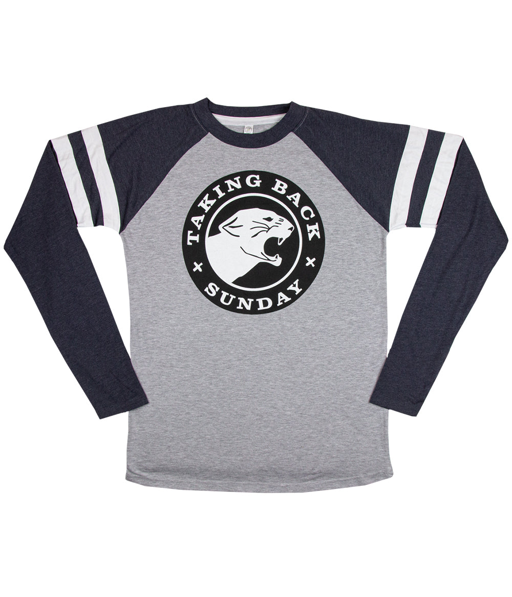 Taking Back Sunday Panther Long Sleeve Football Shirt