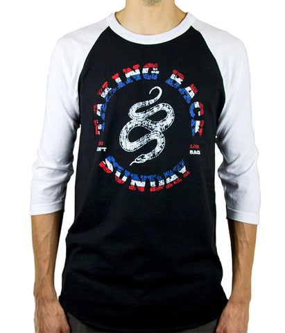 Taking Back Sunday Snake Raglan Shirt