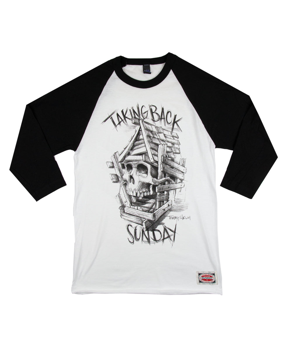 Taking Back Sunday Authentics Tattoo Raglan Shirt