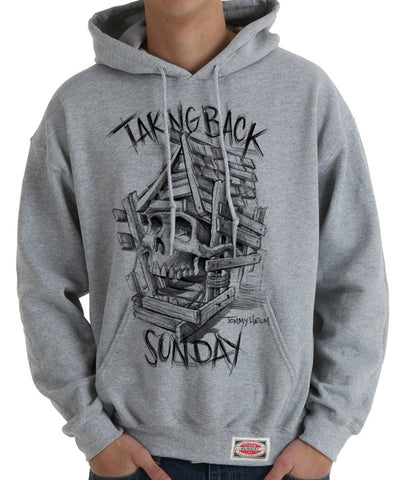 Taking Back Sunday Authentics Tattoo Pullover Hooded Sweatshirt
