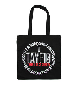 Taking Back Sunday TAYF10 Tote Bag