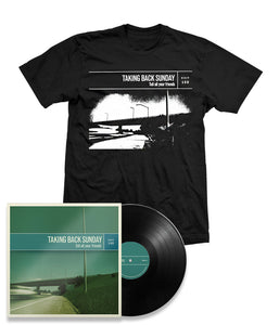 Taking Back Sunday Tell All Your Friends Remastered Black Vinyl Bundle #1