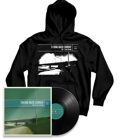 Taking Back Sunday Tell All Your Friends Remastered Black Vinyl Bundle #3