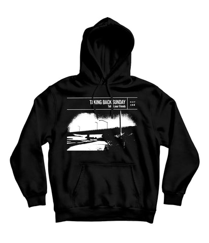 Taking Back Sunday Tell All Your Friends Cover Hooded Sweatshirt