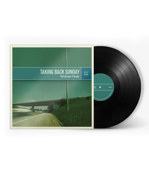 Taking Back Sunday Tell All Your Friends Remastered Black Vinyl Bundle #2