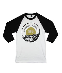 Taking Back Sunday Tidal Wave Raglan