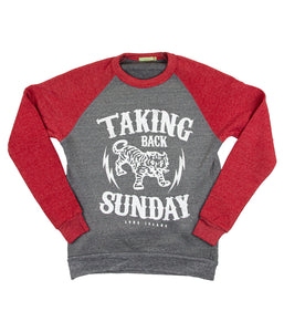 Taking Back Sunday Tiger Crewneck Sweatshirt