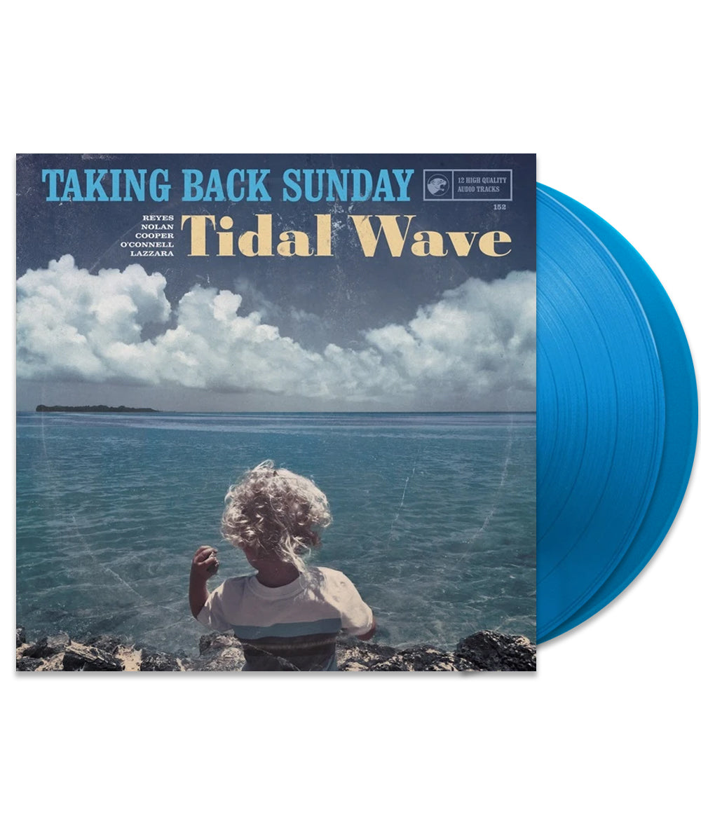 Taking Back Sunday - Tidal Wave Vinyl (Transparent Blue)