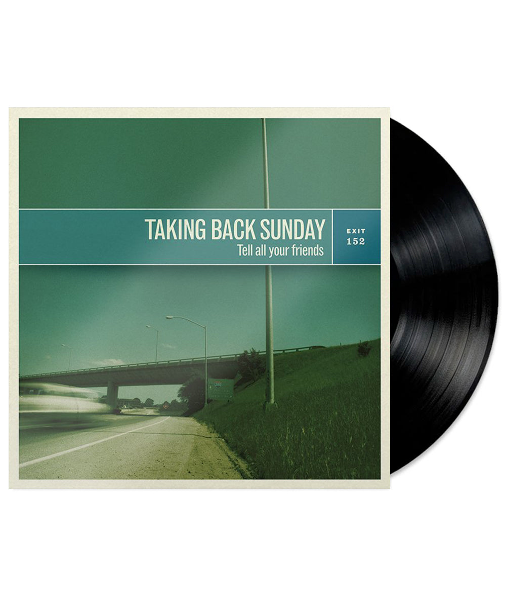 Taking Back Sunday - Tell All Your Friends Remastered Vinyl (Black)  **PREORDER - SHIPS JUN 11