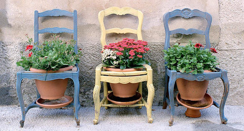 Three Chairs - Provence, France
