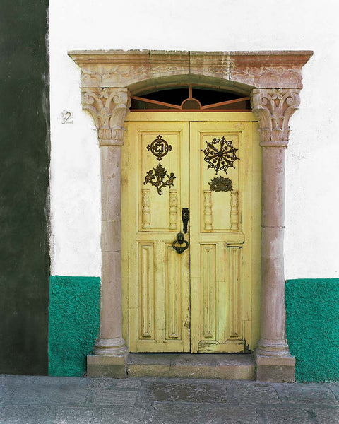Yellow Door - Merida(Yucatan), Mexico