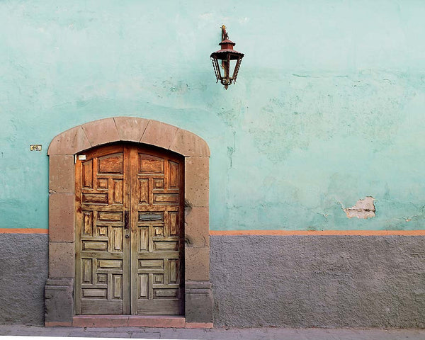 Door With Rectangles - San Miguel de Allende(Guanajuato), Mexico