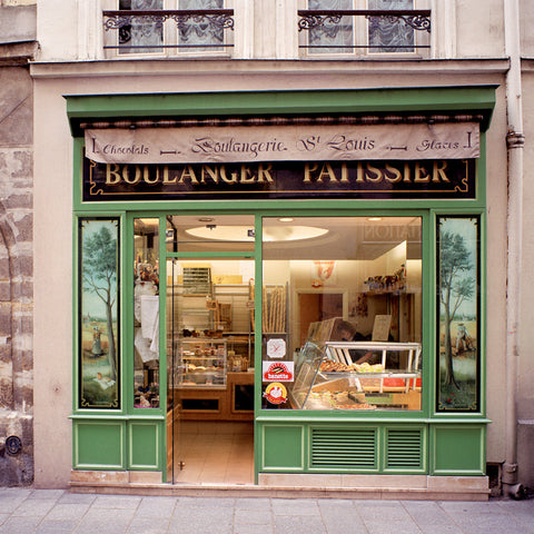 Boulangerie- Paris(Ile Ste. Louis), France