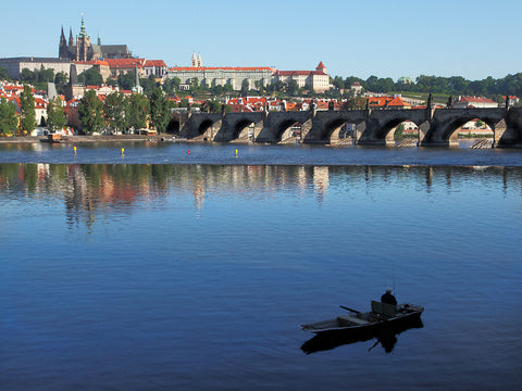 Fishing in Prague, Prague, Czech Republic