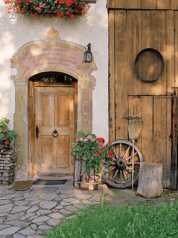 Frescoed Farmhouse- Oberammergau(Bavaria), Germany