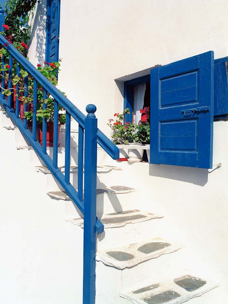 Greek Stairs-Mykonos, Greece