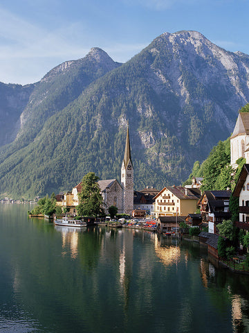 Hallstatt Morning- Lake Hallstatt, Austria
