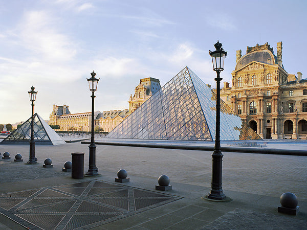 Louvre at Twilight- Paris, France